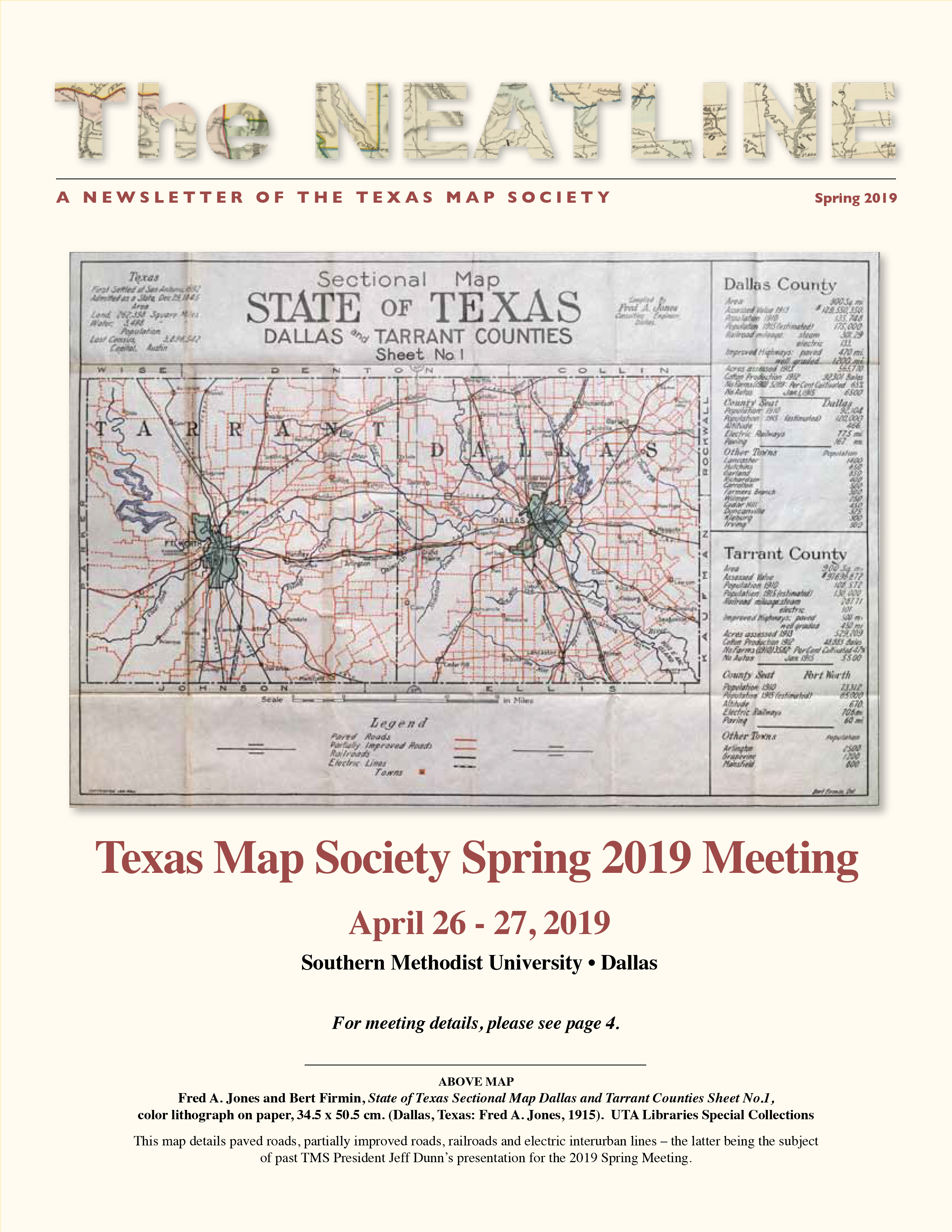 Map Of Texas Please.Newsletter Texas Map Society